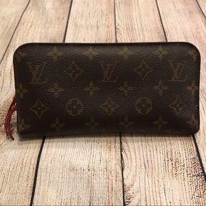 Louis Vuitton Bags   Authentic Lv Zippered Wallet   Poshmark f04afc0ea30